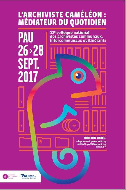 Affiche Colloque Pau2017